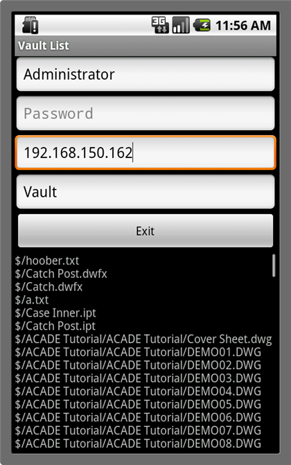 Vault on Android - POC App - It's All Just Ones and Zeros